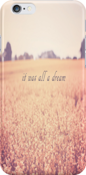 It Was All A Dream by Nicola  Pearson