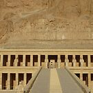 temple of hapsetsut by annet goetheer