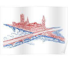 Westminster Palace and Big Ben Poster