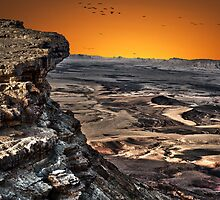 Ramon Crater, peak of Mount Negev in Israel by PhotoStock-Isra