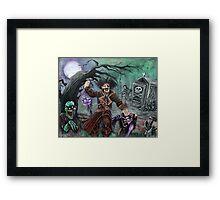 Pirate's Graveyard Framed Print