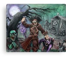 Pirate's Graveyard Canvas Print