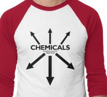 EVERYTHING IS CHEMICALS Men's Baseball ¾ T-Shirt