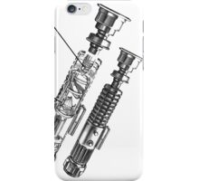 Star Wars Lightsaber Retro Ad iPhone Case/Skin
