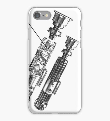 Star Wars Lightsaber Retro Ad iPhone Case/Skin