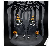 the Halloween Twins Poster