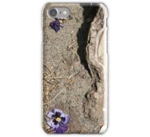 stark pansy  iPhone Case/Skin