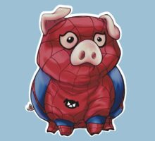 Spider-Pig by Shtut