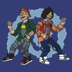 Good Robot Bill & Ted by clayorrnot