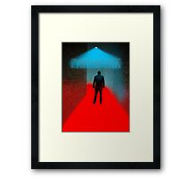 Fangpunk 3D Future ART Framed Print