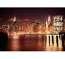 New York City - Night Photographic Print