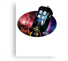 Doctor's New Assistant Canvas Print