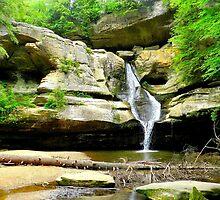 Cedar Falls, Hocking Hills, Ohio by WonderlandGlass