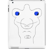 abstract face iPad Case/Skin