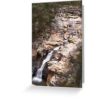WOOLSHED FALLS, BEECHWORTH, VICTORIA Greeting Card