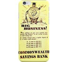 big business in australia iPhone Case/Skin