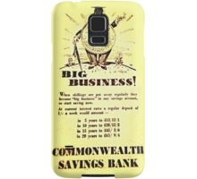 big business in australia Samsung Galaxy Case/Skin