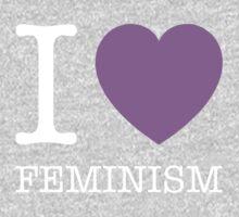 I LOVE FEMINISM Kids Tee