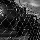 Locomotive Graveyard by Vince Russell