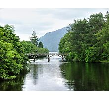 The bridge at Fort Augustus - Loch Ness, Scotland.......! Photographic Print