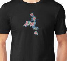 Map Art Unisex T-Shirt