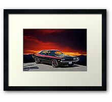 1970 Dodge Challenger R/T Framed Print