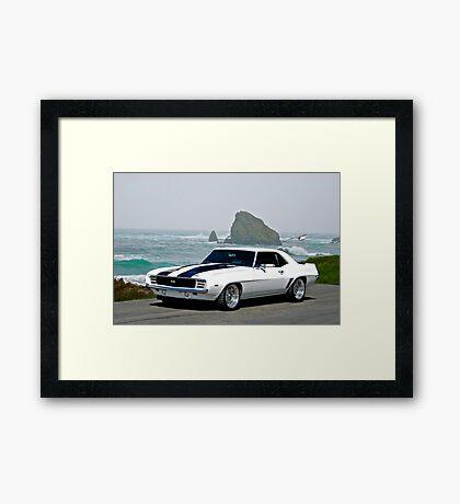 1969 Camaro Super Sport Framed Print