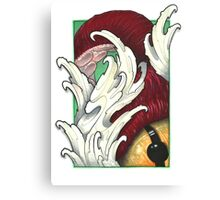 Octo's Eye Canvas Print