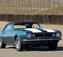 1967 Camaro Convertible by DaveKoontz
