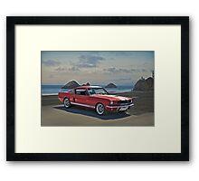 1965 Shelby Mustang G.T.350 Framed Print