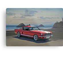 1965 Shelby Mustang G.T.350 Metal Print