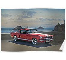 1965 Shelby Mustang G.T.350 Poster