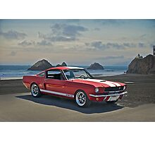 1965 Shelby Mustang G.T.350 Photographic Print
