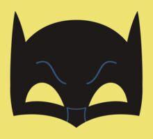 Super hero mask ( batman) One Piece - Short Sleeve