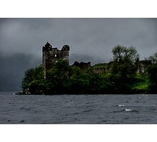 Urquhart ......Haunted Castle.....Loch Ness.....Scotland ! Photographic Print