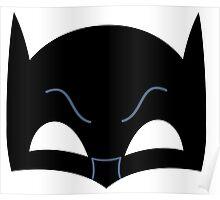 Super hero mask ( batman) Poster