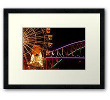 Vivid - From Luna Park Framed Print