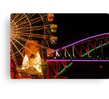 Vivid - From Luna Park Canvas Print