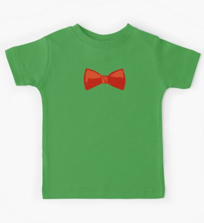 Red Bow Tie Kids Tee