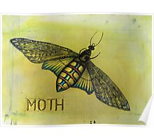 The Hawk Moth Poster