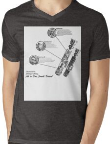 Star Wars Lightsaber Schematics Mens V-Neck T-Shirt