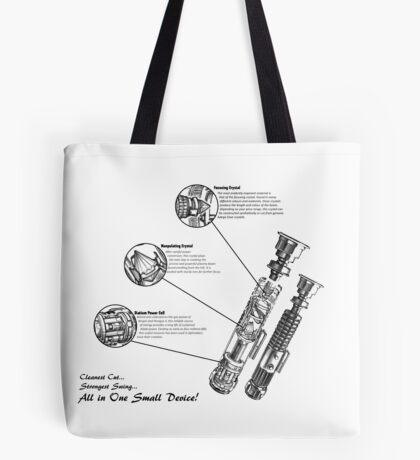 Star Wars Lightsaber Schematics Tote Bag