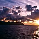 Roseau, Dominica Sunrise by TB-Photography-