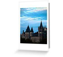 Castle in Antwerp Greeting Card