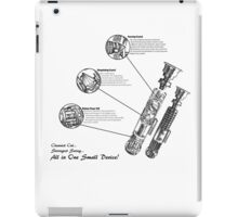 Star Wars Lightsaber Schematics iPad Case/Skin