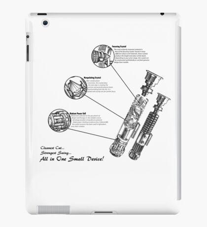 Star Wars Lightsaber Schematics iPad Case/Skin