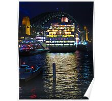 Sydney Harbour Pearl Poster
