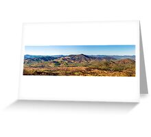 The Valley of Tallangatta Greeting Card