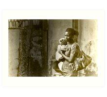 Ghana Momma Art Print
