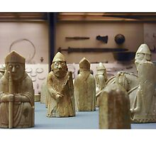 Lewis Chessmen Photographic Print